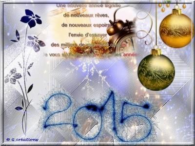 Bonne Année 2015-1S
