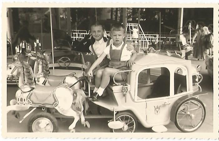 mon frère et moi expo 1958