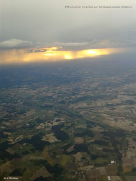 Près de 19 heures coucher de soleil sur Bordeaux
