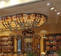 Bruxelles - Galeries Saint-Hubert Chocolaterie Art Nouveau