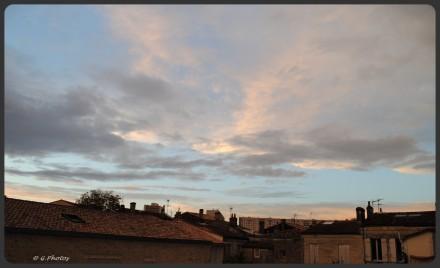 France - Bordeaux - Coucher de soleil