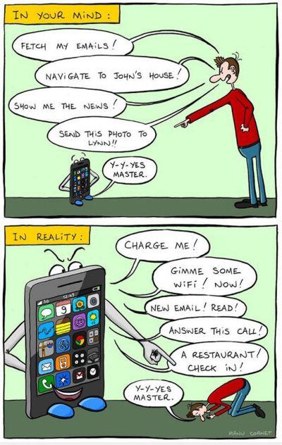 Dictature du smartphone