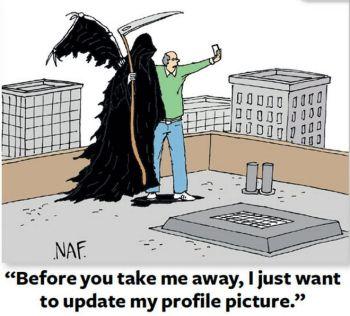 Selfie avec la mort