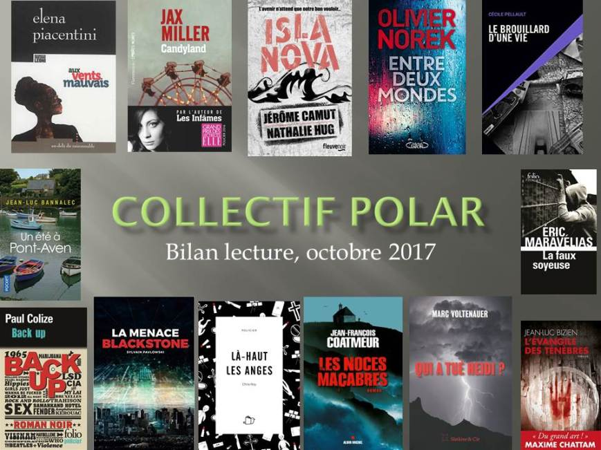 Collectif Polar bilan octobre 17